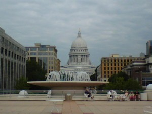 Capitol from Monona Terrace