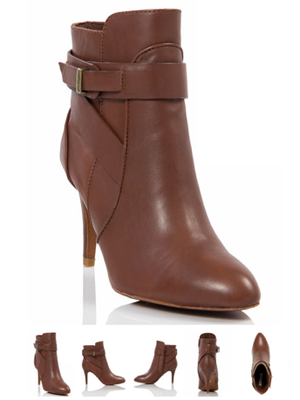 Adagio Leather Booties