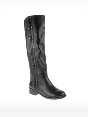 Once Over Leather Boot-
