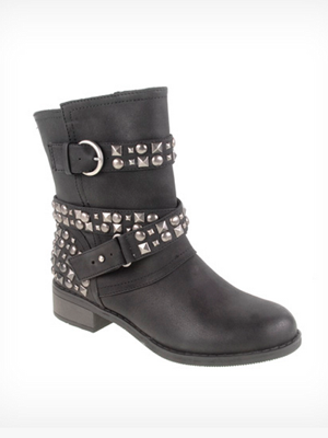 Showstopper Leather Boot