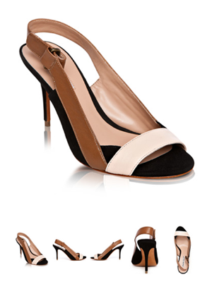 Whimsy Patent Leather Sandal