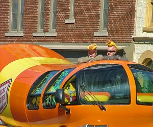 Feet First Oscar Mayer Wienermobile